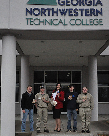 Five PHS Students Compete for Skill USA Region 1 Competition
