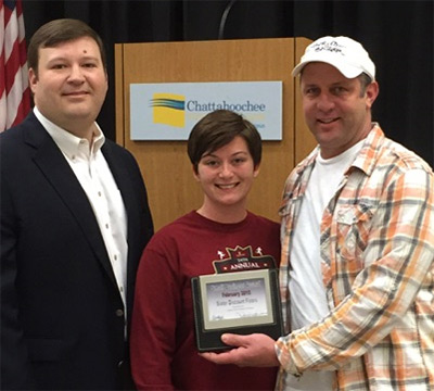 Slater Discount Floors Named February Small Business of the Month