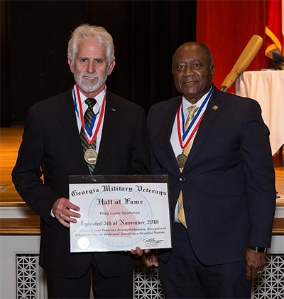 Jasper Veteran Inducted Into Georgia Military Veterans Hall of Fame