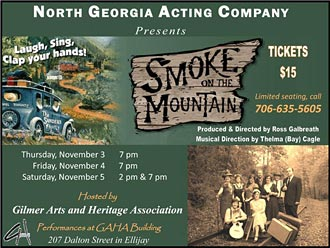 Another Chance to See Smoke on the Mountain