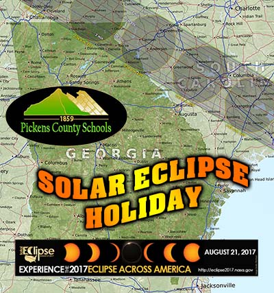 Celestial Event to Eclipse School Day for Pickens Students and Staff
