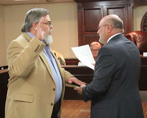 Dr. Sonny Proctor Swearing-In for Jasper City Council