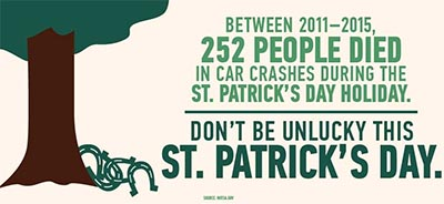 State Gearing Up For DUI Enforcement on St. Patrick's Day Weekend