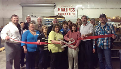 Pickens County Chamber Recognizes Stallings Industries Inc. with a Ribbon Cutting