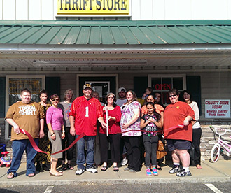 Pickens County Chamber of Commerce Welcomes New Member  The Strong Tower with a Ribbon Cutting