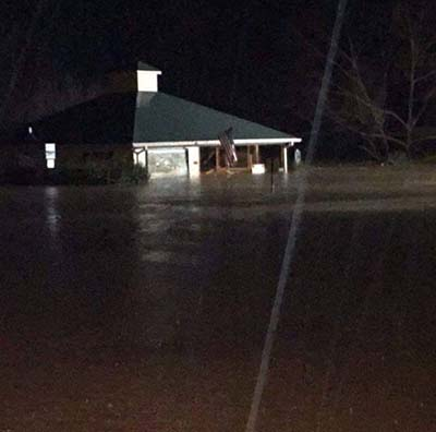 Minor to Moderate Flooding in Pickens