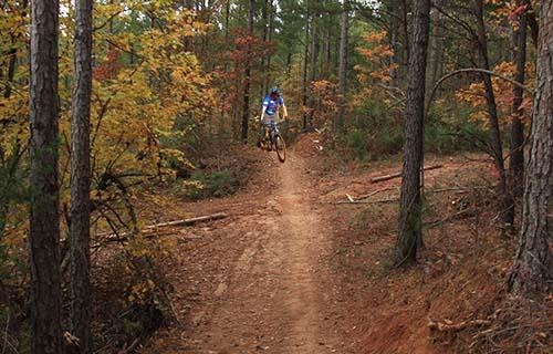 Mountain Biking and Hiking Park in Talking Rock Open