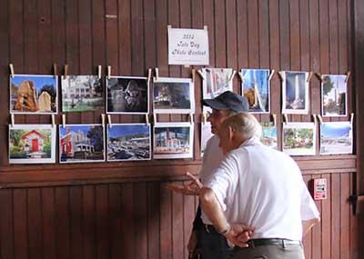 Photos displayed in the Tate Depot during Tate Day