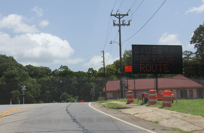 SR 53 at Georgia Northeastern Railroad in Tate To Be Closed For Crossing Rebuilding