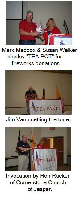 The Pickens County Tea Party Presents a Sizzling Program....