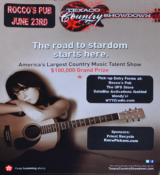 America's Largest Country Music Talent Show in Jasper on June 23rd