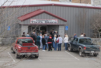 COMMUNITY THRIFT STORE - A GREAT 2013