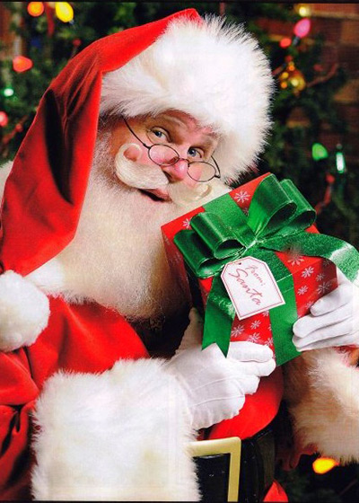 Local Santa to be Inducted Into  The International Santa Claus Hall of Fame