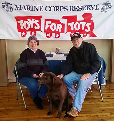 Marine Corps Reserve Toys for Tots Ongoing Until Christmas Eve