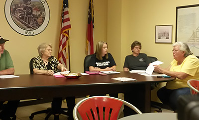 Town of Talking Rock Council Meeting May 2015 (Video)