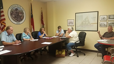 Town of Talking Rock Council Meeting June 2015 (Video)
