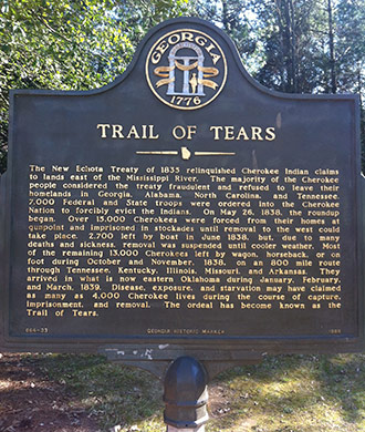 175 Years:  Cherokee Trail of Tears - Honor and Remember (1838 - 2013) Memorial Service