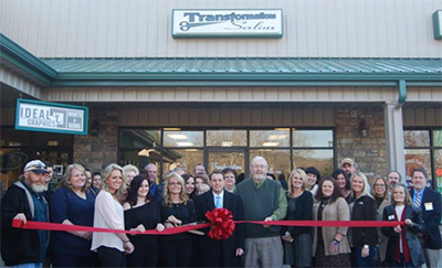 Transformations Salon Inc. Ribbon Cutting Ceremony
