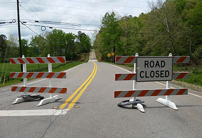 ***EMERGENCY REPAIR CLOSES PICKENS COUNTY BRIDGE