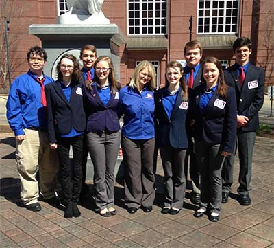 PHS Students Brought Home Placings From TSA State Conference