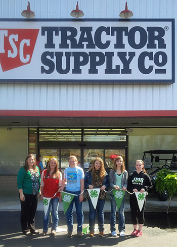 National Paper Clover Campaign Continues Support of Pickens County 4-H Youth