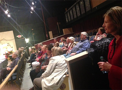 November Business After Hours Held at Tater Patch Players Theater