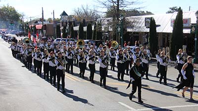Pickens Pride of Pickens Marching Band
