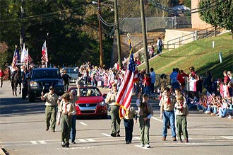 Jasper Lions To Sponsor Veterans Day Parade on November 11th