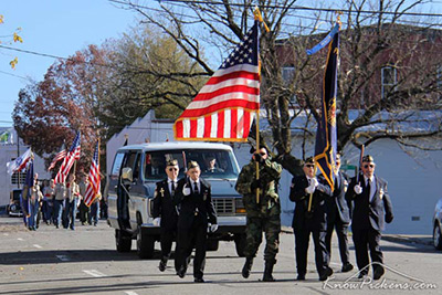 Jasper Lions Host Annual Veterans Day Parade
