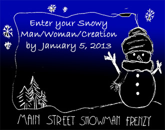 JASPER WINTER ADVISORY…MAIN STREET SNOWMAN FRENZY COMING IN JANUARY