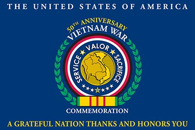 Flag Raising Ceremony to Commemorate the 50th Anniversary of the Vietnam War