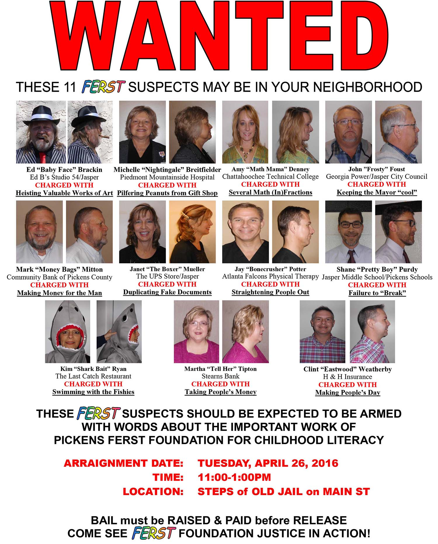 Pickens Ferst MOST WANTED to be Arrested