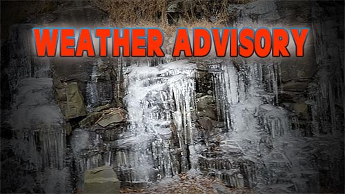 Weather Advisory for January 8, 2018 Causing Closings and Delays