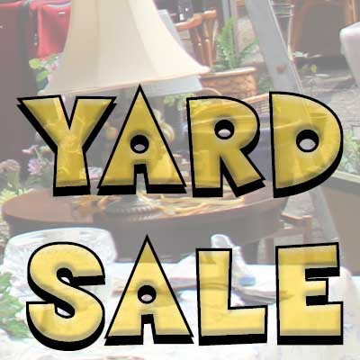 'A Shepherd's Mission Yard Sale' This Saturday, August 8th