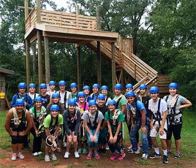 Youth Leadership Pickens UGA Overnight Retreat