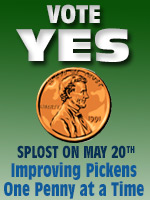 Vote Yes for SPLOST 14