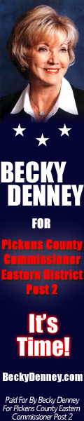 Elect Becky Denney Pickens County Eastern Commissioner Post 2