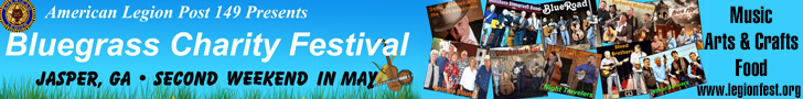 Bluegrass Charity Festival - May 8 - 10, 2015