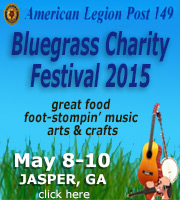 American Legion Post 149 Bluegrass Fesvial - May 8, 9 & 10, 2015 in Jasper, GA