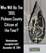 Nominate for Pickens County Citizen of the Year