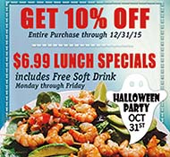 Get 10% Off at Dos Margaritas through 12/31/15