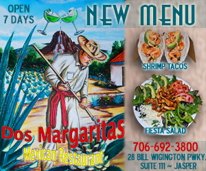 Dos Margaritas New Menu