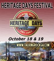 Heritage Days Festival ~ October 18 & 19, 2014