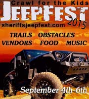 Sheriff's Jeepfest in Jasper, Georgia