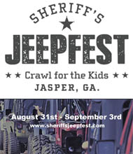 Sheriff's JEEPFEST ~ September September 5-7, 2014