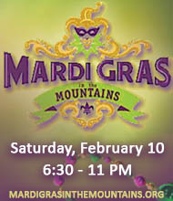 Mardi Gras in the Mountains on February 10, 2018