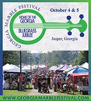 Georgia Marble Festival ~ October 4 & 5, 2014