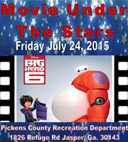 Movie Under The Stars - Disney's BIG HERO6