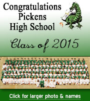 Pickens High School Class of 2015