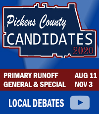 Pickens County Candidates for 2020